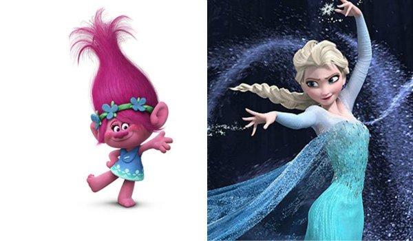 Frozen Trolls Elsa Anna Kendrick