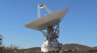 Historic Space Antenna Starts Vital Repairs