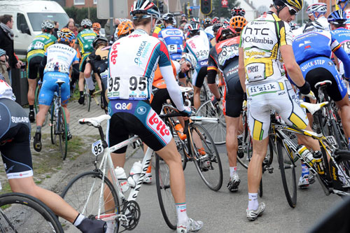 Crash, Tour of Flanders 2010