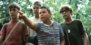 The cast of Stand By Me