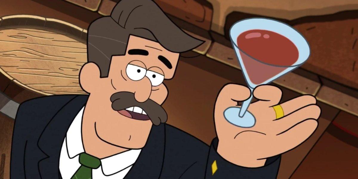 Nathan Fillion on Gravity Falls