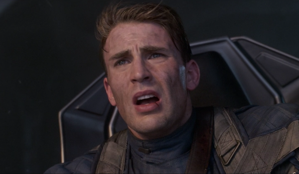 Chris Evans as Captain America in First Avenger