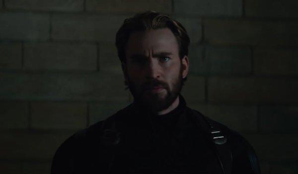 Steve Rogers Cap Chris Evans Infinity War