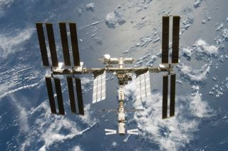 Satellite Debris Tracked Near Space Station