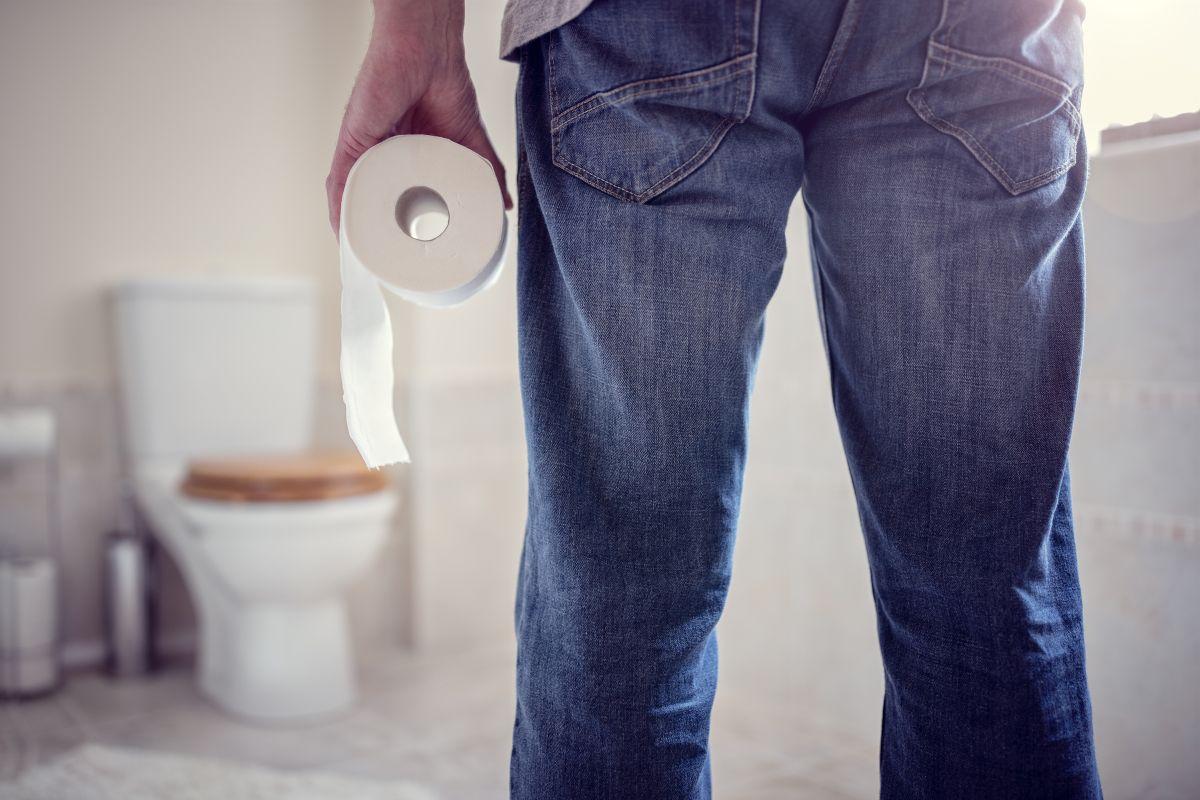 Why do some men take so long to poop?