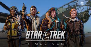 """""""Star Trek Timelines"""" characters"""