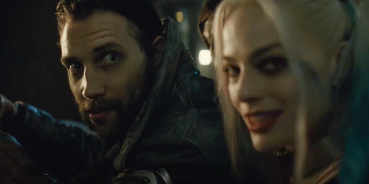 Captain Boomerang and Harley Quinn in Suicide Squad